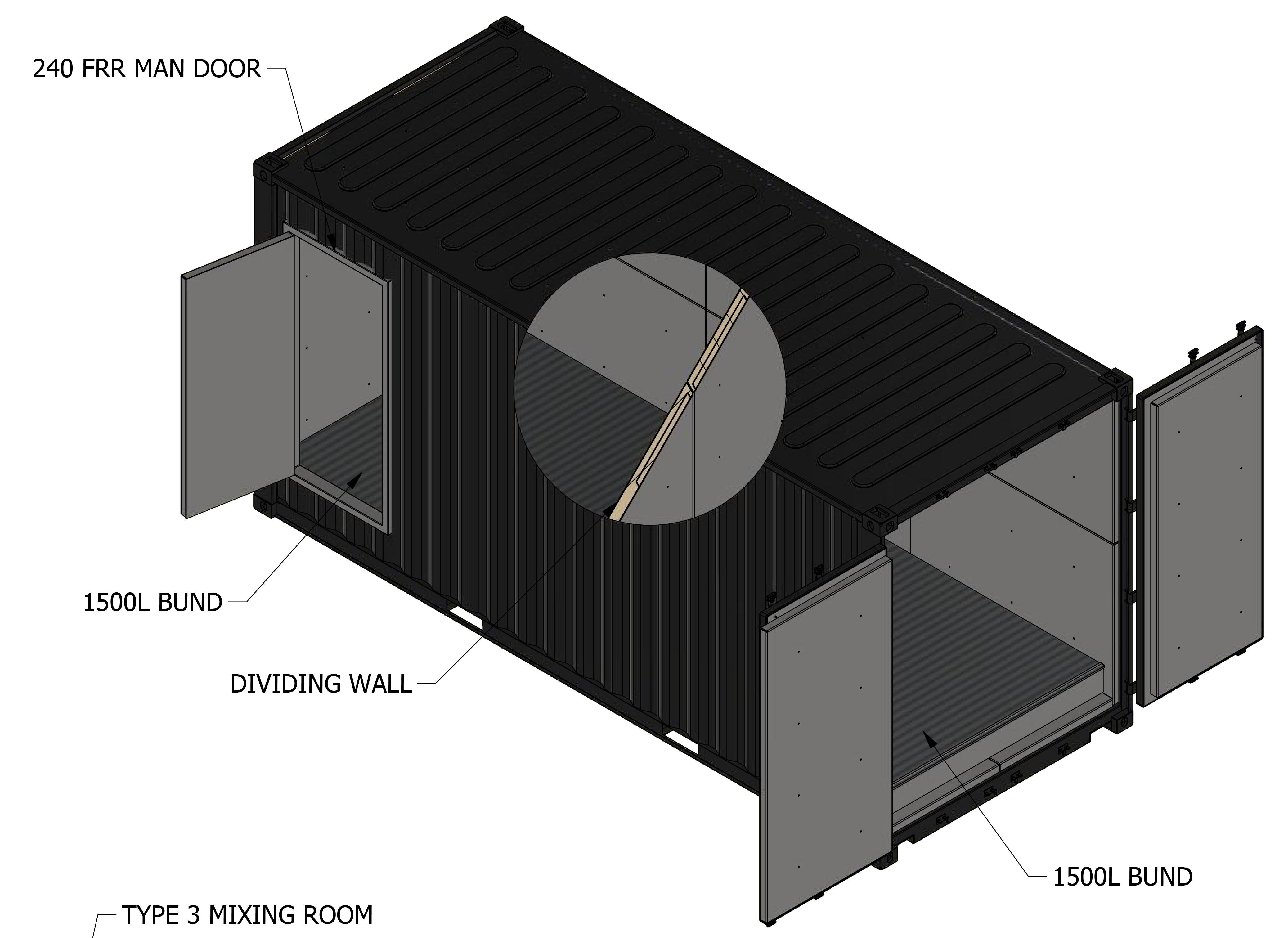 DG6M VAULT-MIXING ROOM